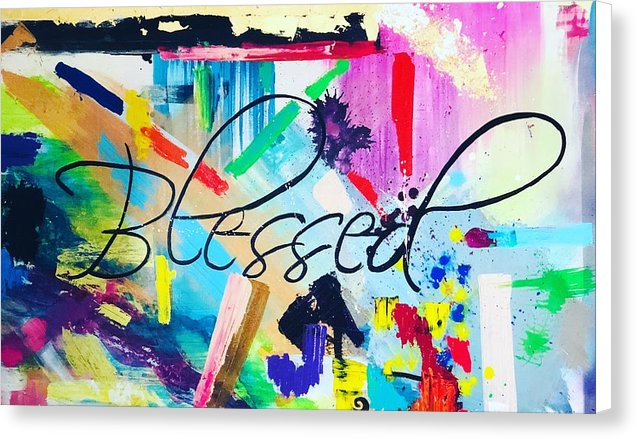 Blessed  - Canvas Print