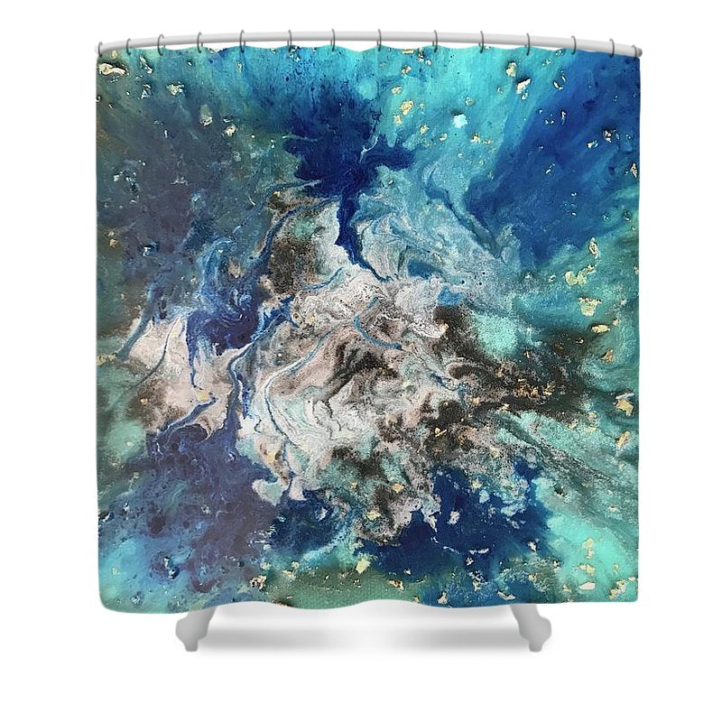 Blues In Three  - Shower Curtain