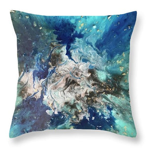 Blues In Three  - Throw Pillow