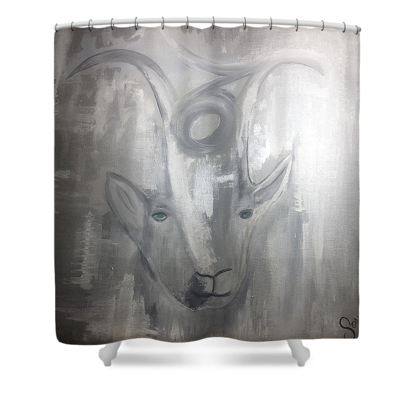 Capricorn  - Shower Curtain