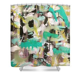 Chaotic Order - Shower Curtain
