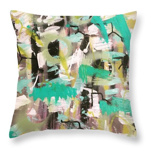 Chaotic Order - Throw Pillow