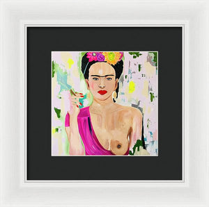 Frida 2.o - Framed Print