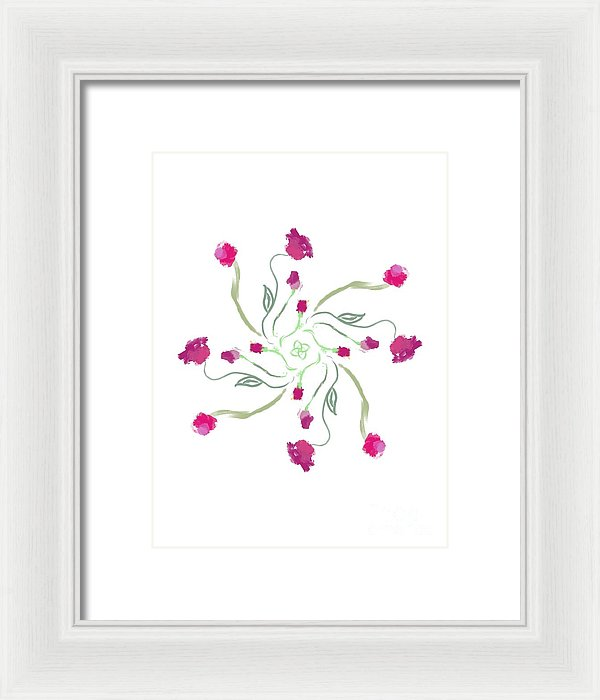 Growing  - Framed Print
