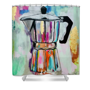 La Greca  - Shower Curtain