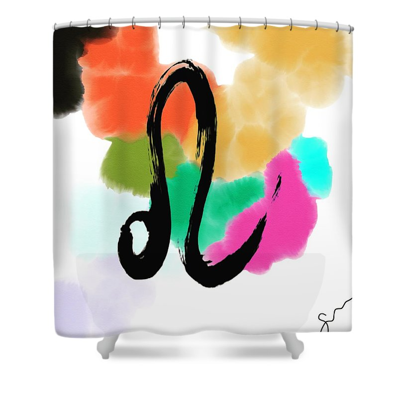 Leo  - Shower Curtain
