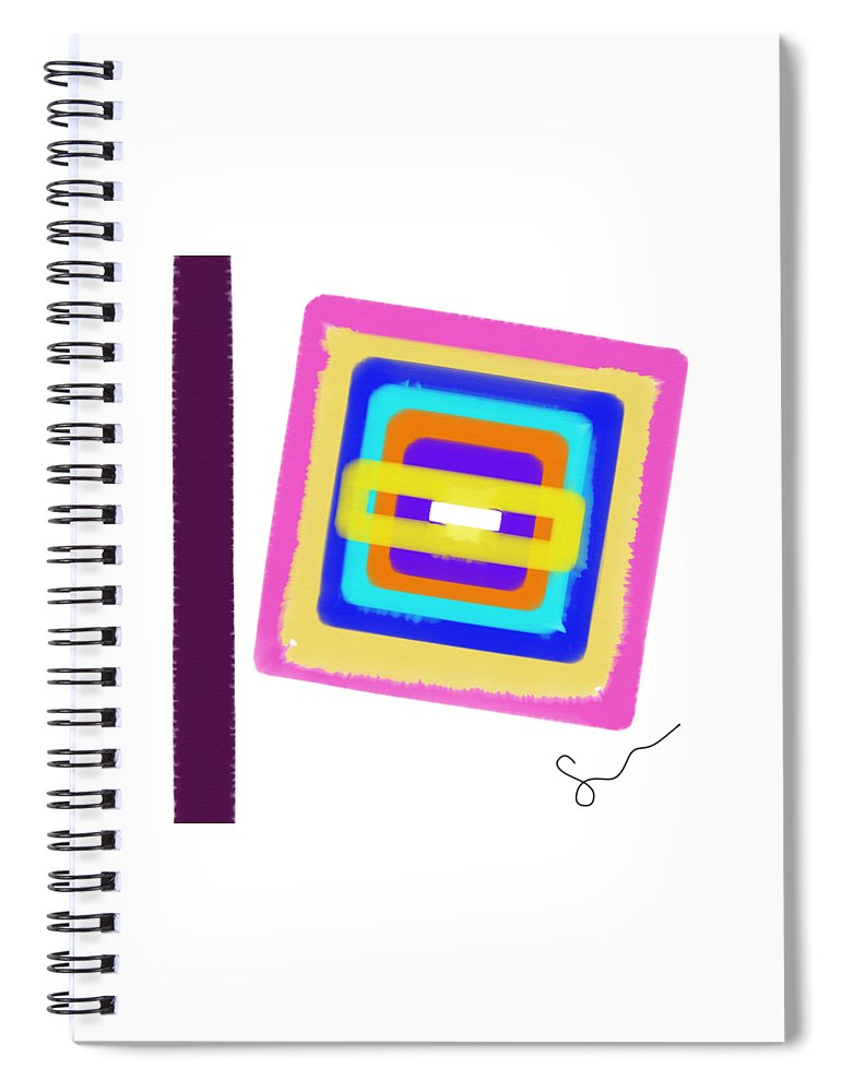 Lines In The Sand  - Spiral Notebook
