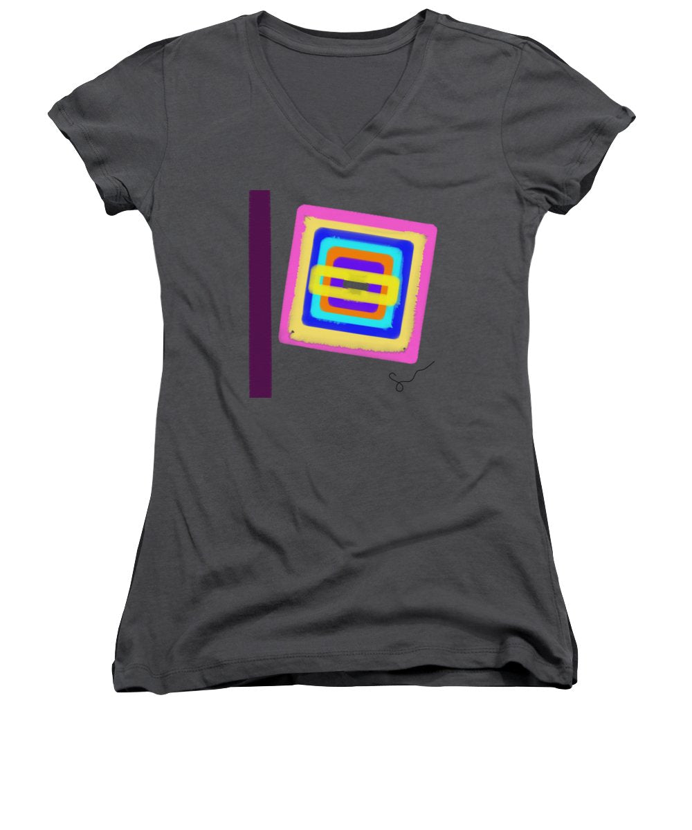 Lines In The Sand  - Women's V-Neck