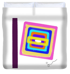 Lines In The Sand  - Duvet Cover
