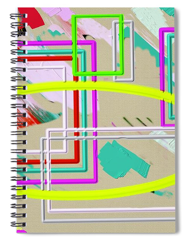Mirrors2 - Spiral Notebook