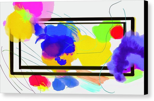 Outside The Box  - Canvas Print