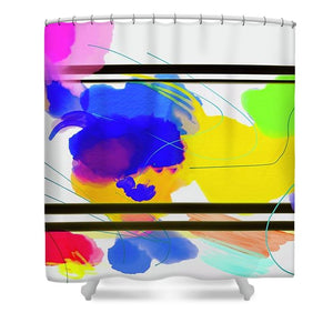 Outside The Box  - Shower Curtain