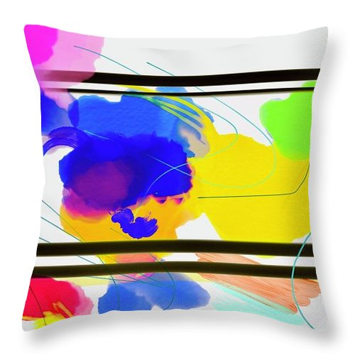 Outside The Box  - Throw Pillow