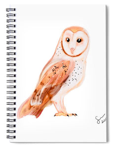 Owl  - Spiral Notebook