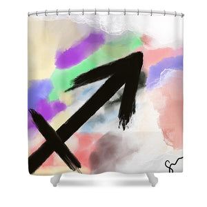 Sagitarius - Shower Curtain