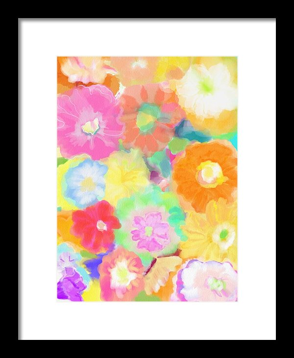 Summer Blues - Framed Print