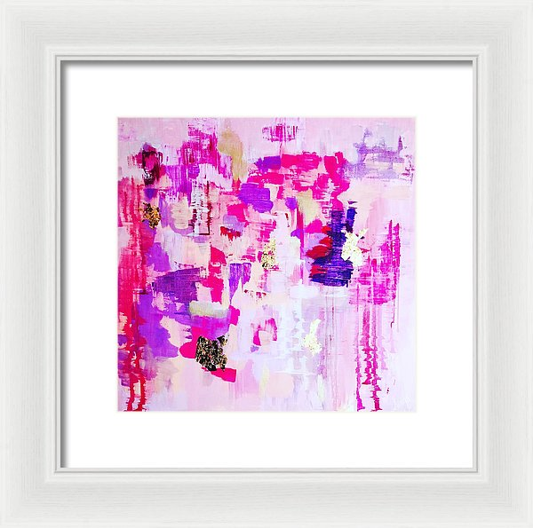The Mess In My Heart - Framed Print