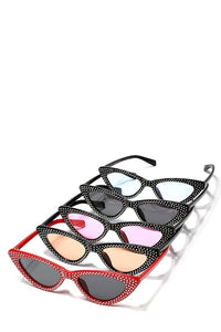 Retro Cat-Eye Sunshades