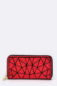 Tribal Jeweled wallet