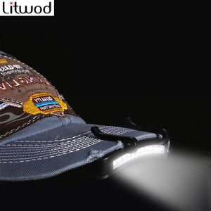 LITWOD Z10 Bright 11 LED Cap Light Headlight
