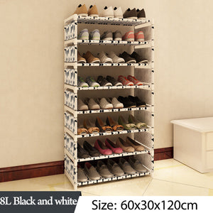 Multi Layer Decorative Steel Pipe Shoe Rack