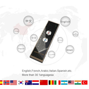 Portable Smart Voice Speech Translator MultiLanguage Translations