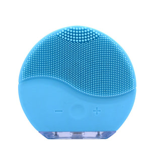 Electric Sonic Face Cleansing Brush Blackhead Removal
