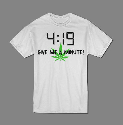 4:19 give me a minute T shirt-men woman T shirts-DiamondsKT