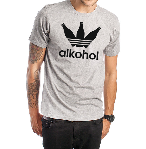 Alkohol T shirt-men woman T shirts-DiamondsKT