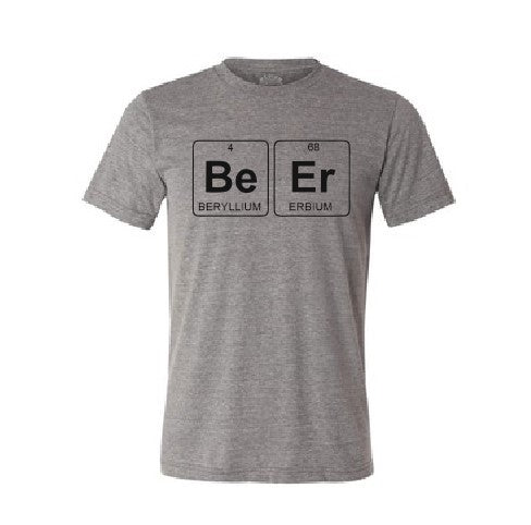 Beer The Periodic table T shirt-men woman T shirts-DiamondsKT
