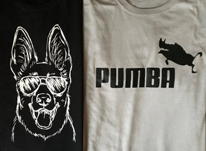 Pumba Puma parody T shirt-men woman T shirts-DiamondsKT