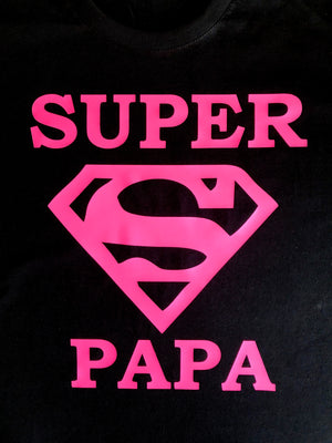 Super Papa men Father's Day t shirt-men T shirts-DiamondsKT