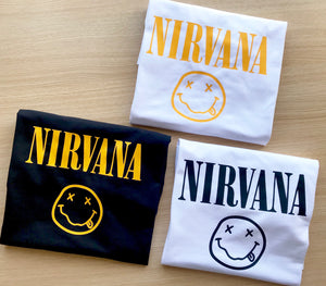 Nirvana T shirt-men woman T shirts-DiamondsKT