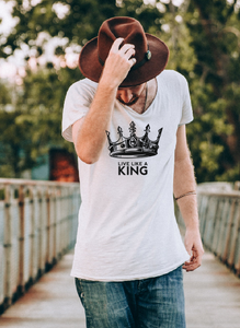 Live like a King T shirt-men T shirts-DiamondsKT