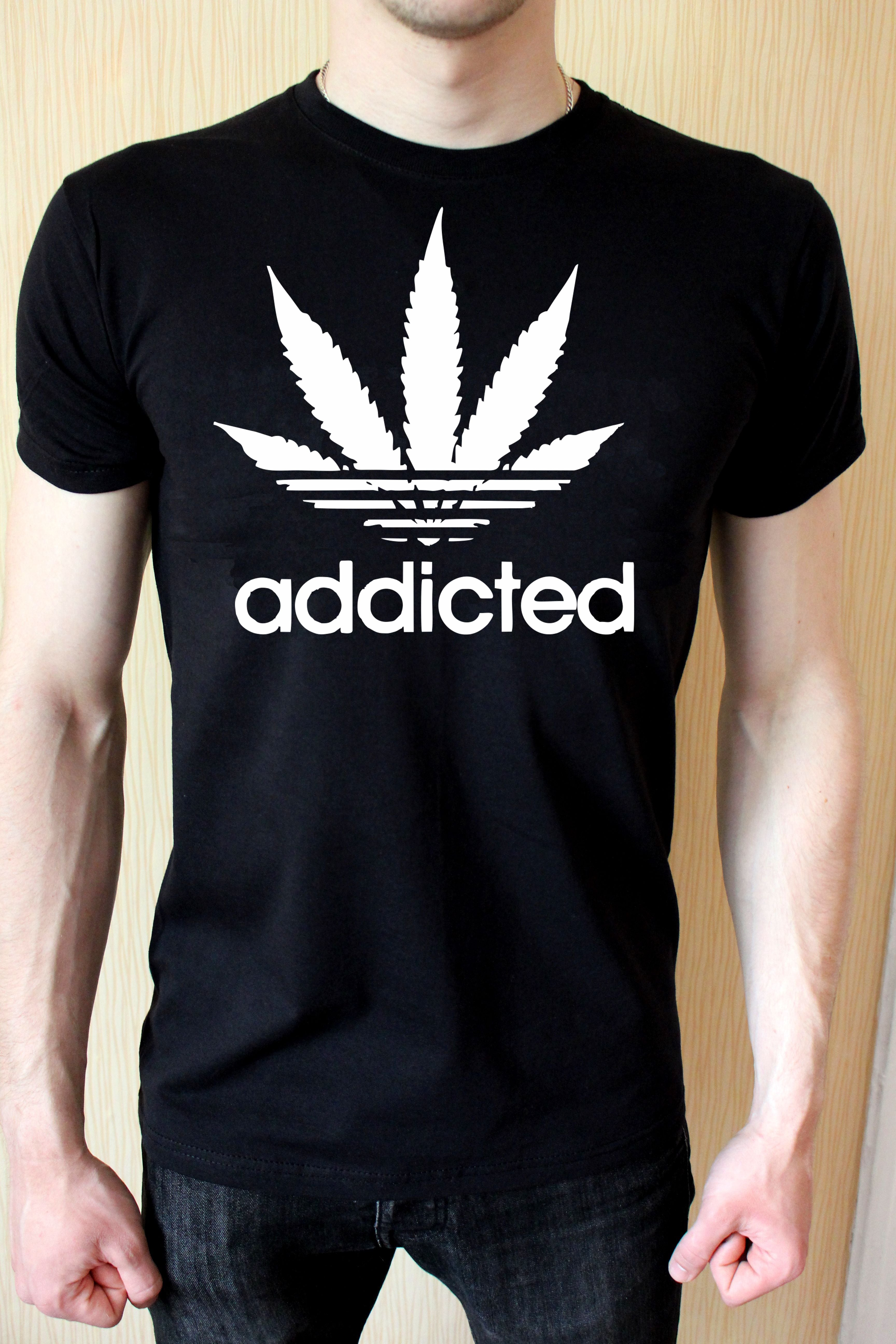 addicted T shirt-men woman T shirts-DiamondsKT