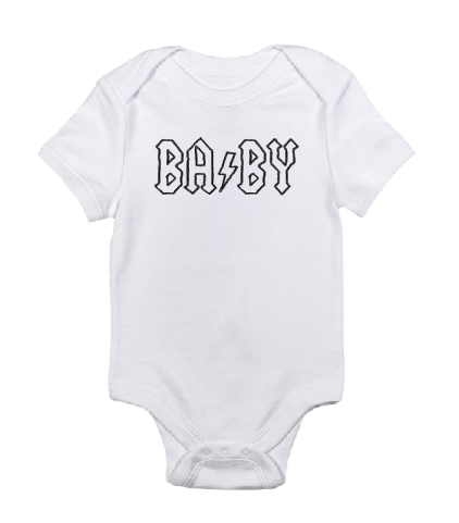 BA⚡BY white black baby bodysuit / onesie-baby bodysuit onesie-DiamondsKT