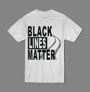 Black lines matter T shirt-men woman T shirts-DiamondsKT