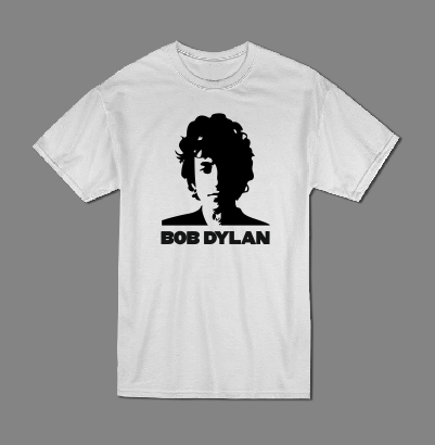 Bob Dylan graphic tee T shirt-men woman T shirts-DiamondsKT