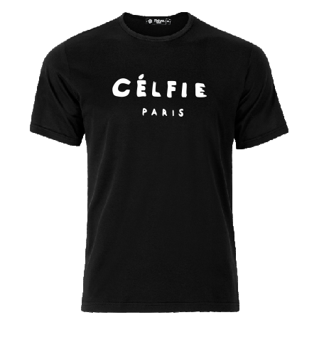 Celfie Paris t shirt-men woman T shirts-DiamondsKT