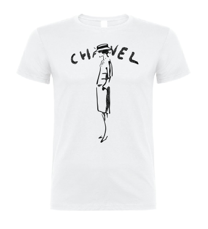Chnel Karl Lagerfeld men / woman T shirt-men woman T shirts-DiamondsKT