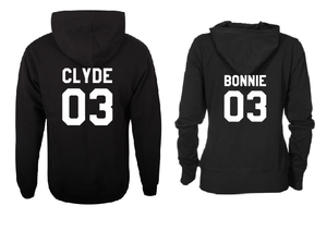 Bonnie Clyde 03 Family matching outfit T shirt-men woman T shirts-DiamondsKT