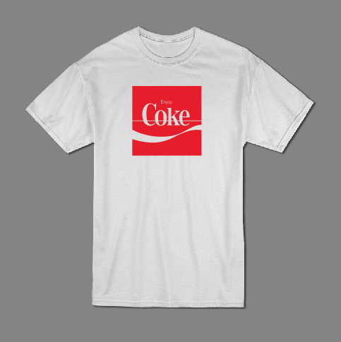 Enjoy Coke T shirt-men woman T shirts-DiamondsKT