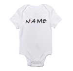 Name Friends TV Show Custom personalized Your name here Baby bodysuit-baby bodysuit onesie-DiamondsKT