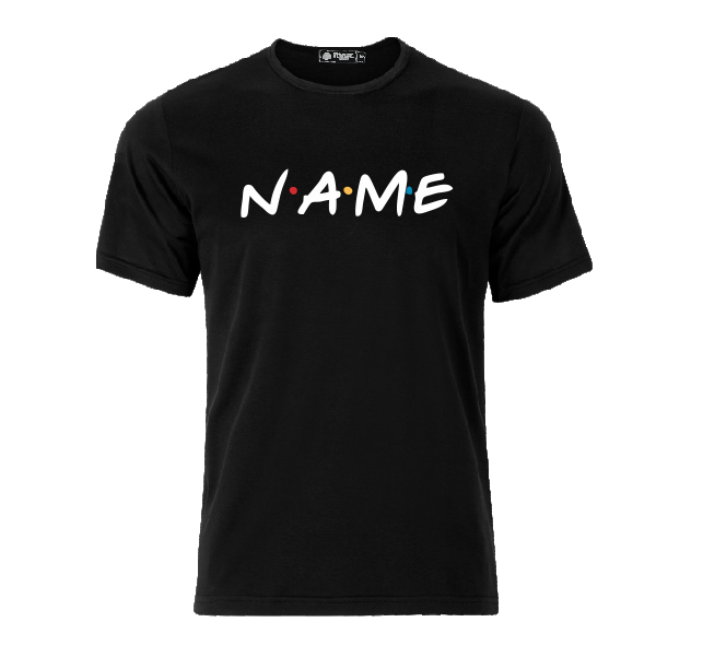 Name Friends TV show custom personalized your name here T shirt-men woman T shirts-DiamondsKT