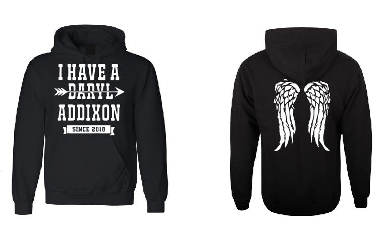 I have a Daryl Addixon Wings Walking Dead inspired hoodie-men woman hoodie-DiamondsKT