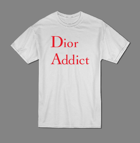 Dior Addict T shirt-men woman T shirts-DiamondsKT