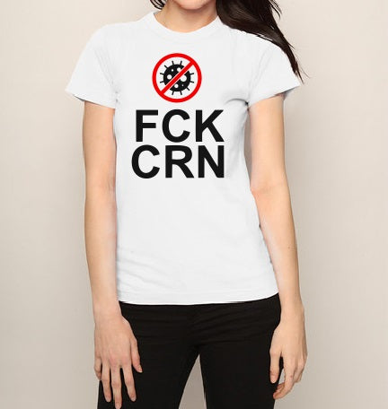 FCK CRN virus T shirt-men woman T shirts-DiamondsKT