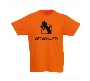 Get schwifty Kids Boy Girl cotton t shirt-Kids T shirts-DiamondsKT