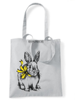 Bunny reusable shopping bag-shopping bags-DiamondsKT