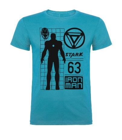 Ironman Kids Boy Girl Baby cotton t shirt-Kids T shirts-DiamondsKT